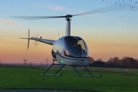 Helicopter Lesson in Ayrshire
