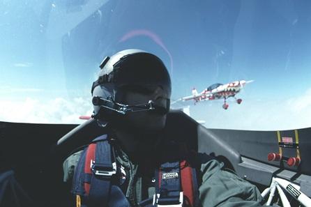 Aerobatic Flying in Roxburghshire