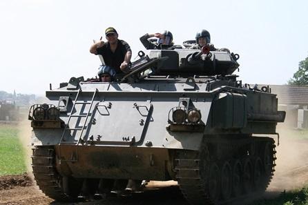 Tank Paintball in Northumberland