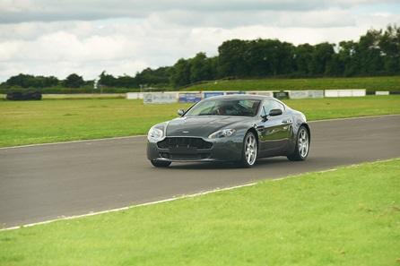 Aston Martin Driving in Roxburghshire