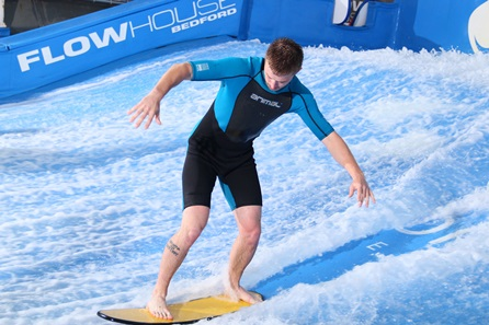 Surfing in North Riding