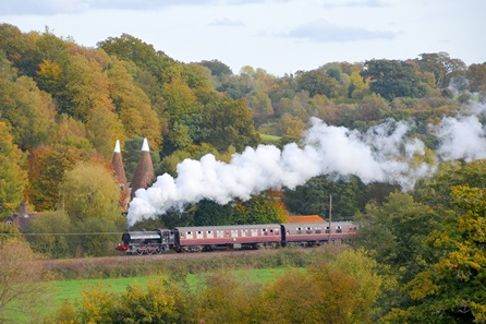Drive a Train in Cheshire