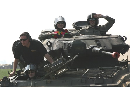 Tank Driving in North Riding