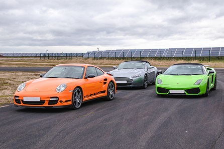 Supercars Driving in North Riding